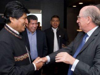 Evo REPSOL Imperialismo Bolivia