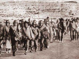 Moviliazación marcha por la vida mineros filemon esocbar